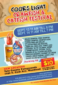 crawfish and catfish festival