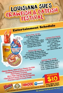 crawfish and catfish festival back